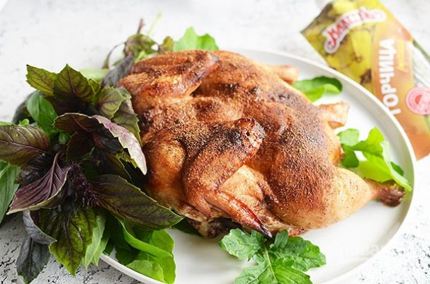 Лучший рецепт запечённой курицы в горчичном маринаде