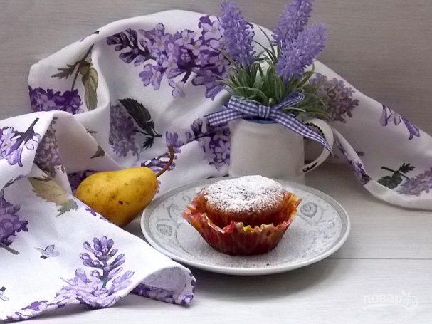 Грушевые карамельные кексы