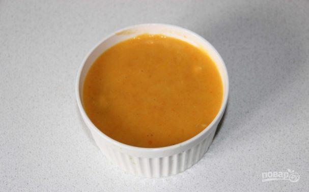 Морковный крем-суп