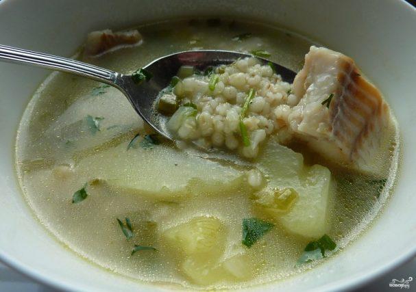 как приготовить щавелевый суп с перловкой