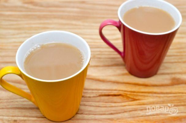 Чай на молоке