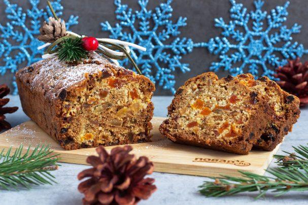 Темный рождественский кекс