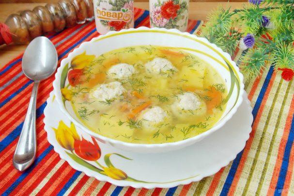 Суп с желтой чечевицей