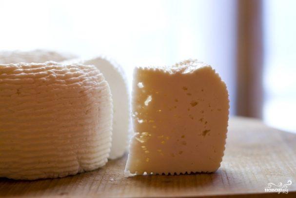 Домашний сыр из молока и уксуса