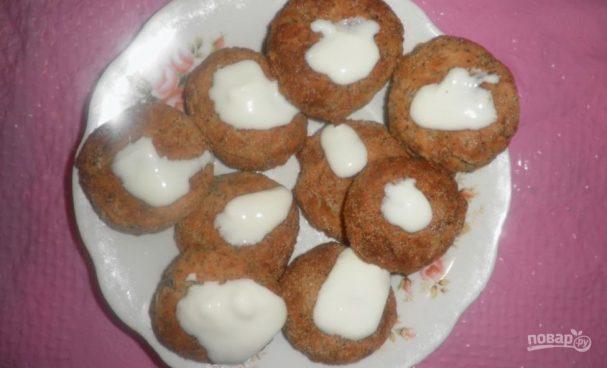 Низкокалорийные сырники в духовке