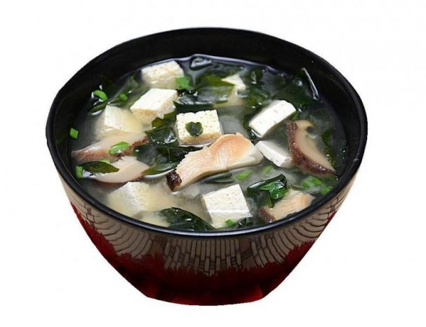 Мисо-суп с шиитаке