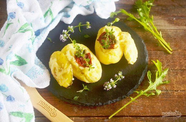 Картофель, запеченный дважды