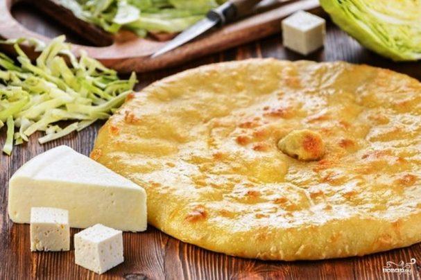 Осетинский пирог постный