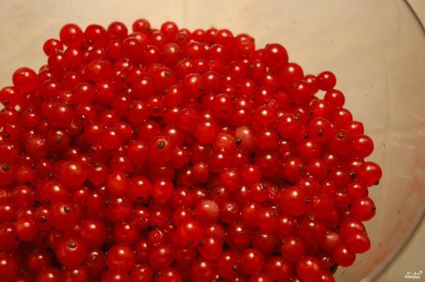 Красная смородина протертая с сахаром