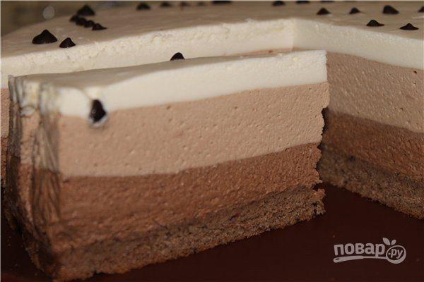 """Торт """"Три шоколада"""" от Селезнева"""