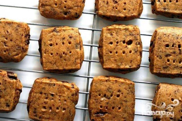 Печенье с эспрессо и шоколадом