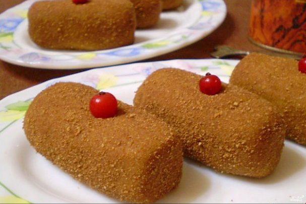 """Пирожное """"Картошка"""" из печенья"""