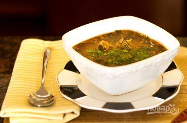 Харчо (грузинский пряный суп)