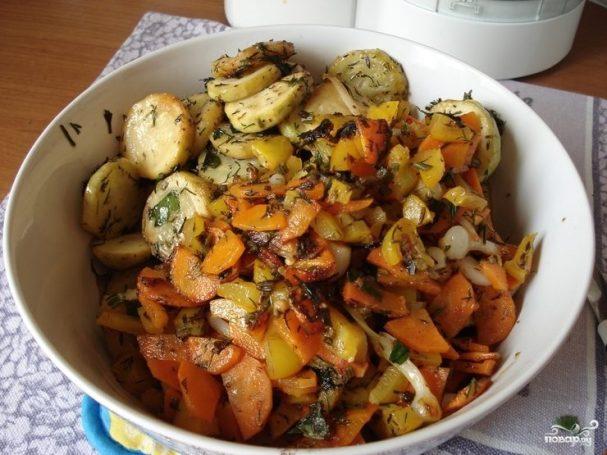 Рагу с баклажанами и картофелем