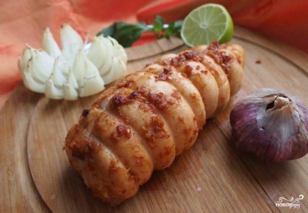 Пастрома из куриной грудки в духовке