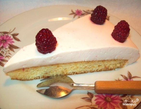 Йогуртовое суфле для торта