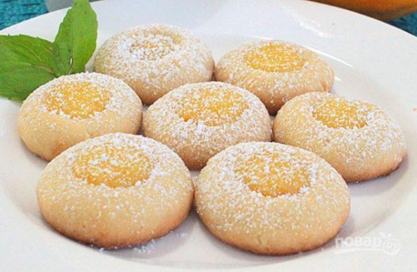 рецепт из творога печенья