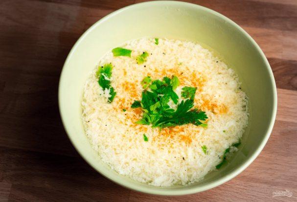 Страчателла (суп с яйцом)