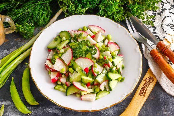 Салат с тыквенным маслом