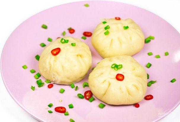 Паровые булочки с начинкой