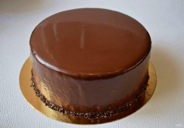 Глазурь для торта из шоколада и сливок