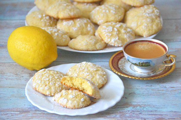 Итальянское лимонное печенье