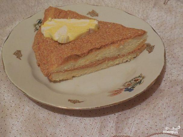 Самый простой бисквит для торта