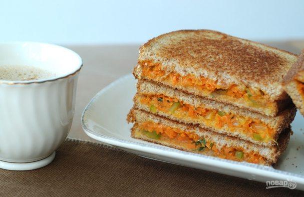 Морковные тосты