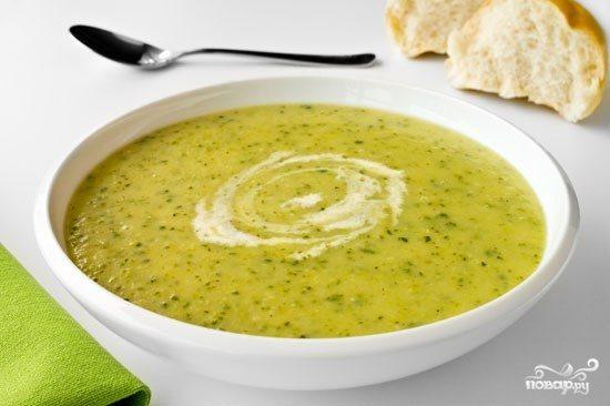 Суп-пюре из цукини