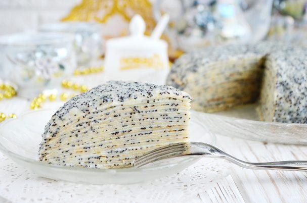 """Торт """"Маковка"""" из блинов"""