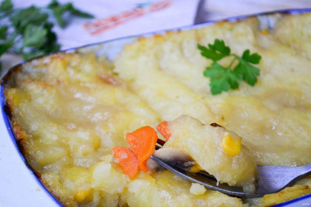Шефердский пирог (вегетарианский)