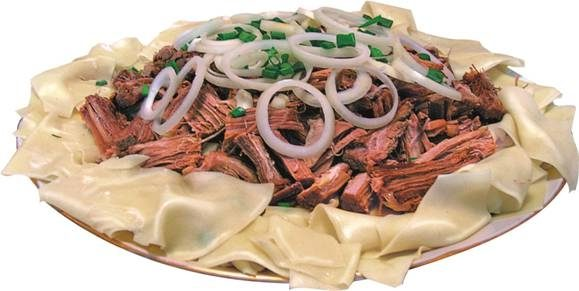 Мясо по-казахски