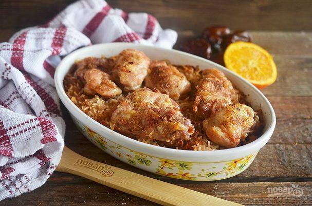 Курица с финиками по-магрибски