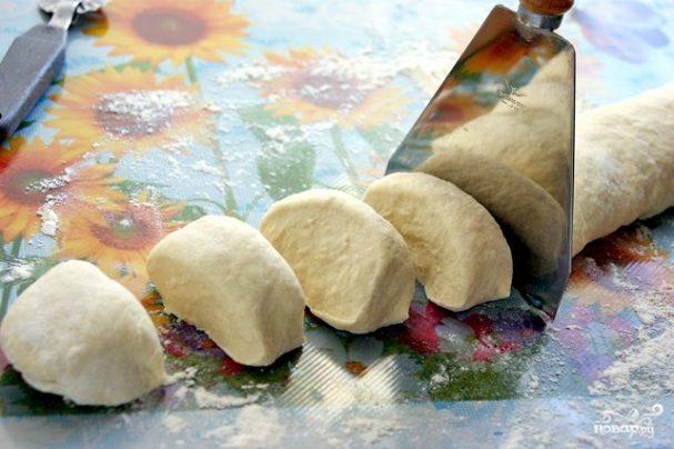 Тесто для чебуреков на кефире