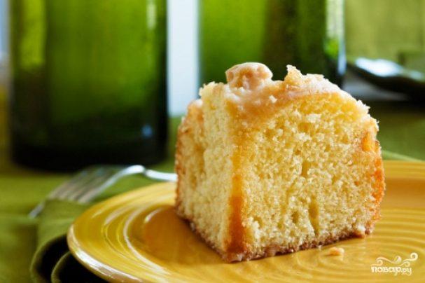 Кекс в хлебопечке с лимоном