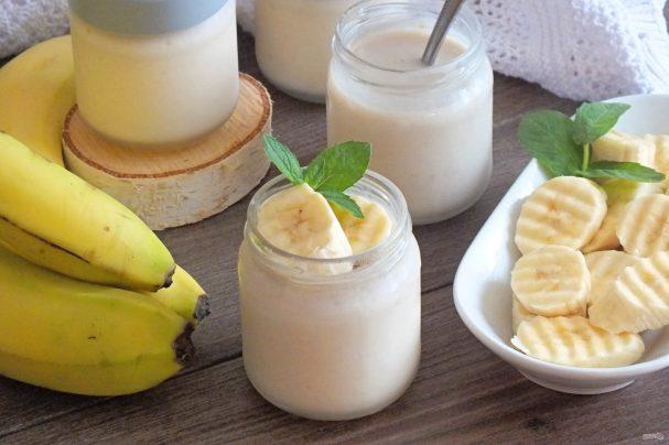 """Домашний йогурт """"Банановый"""""""