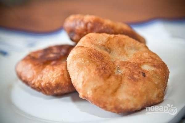 Бабушкины пирожки с мясом