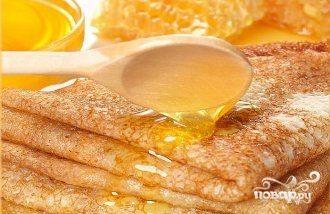 Блинчики с медом