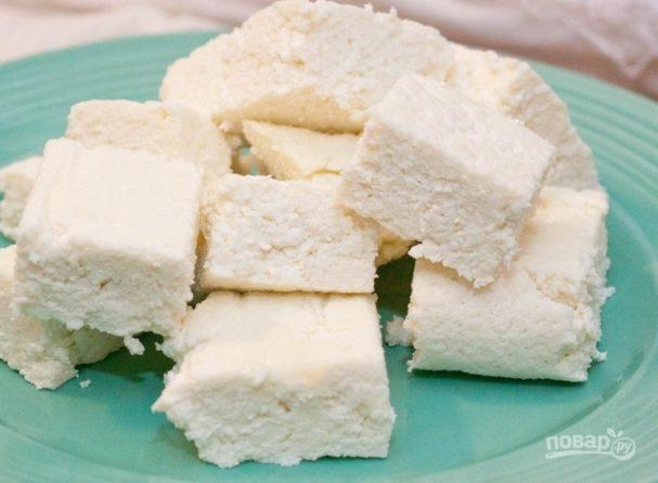 """Сыр """"Панир"""" из 2-х ингредиентов"""