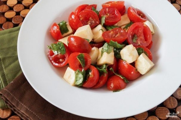 Курица с томатами черри – кулинарный рецепт