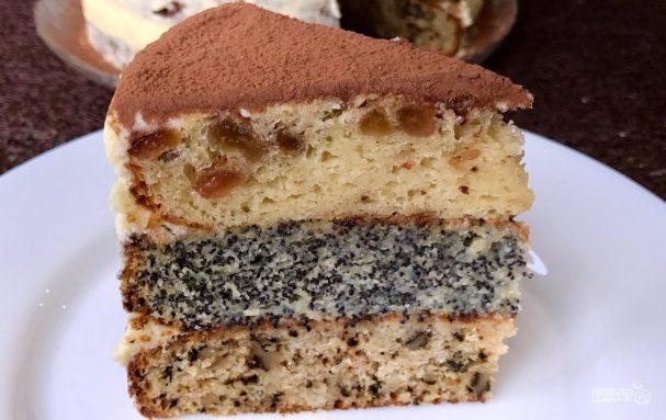 торт сказка с джемом рецепт с фото пошагово