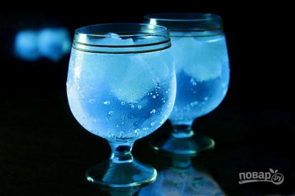 Светящийся коктейль