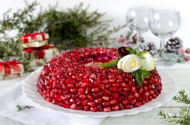 "Салат новогодний ""Гранат"""