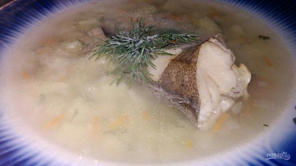 Диетический рыбный суп на скорую руку