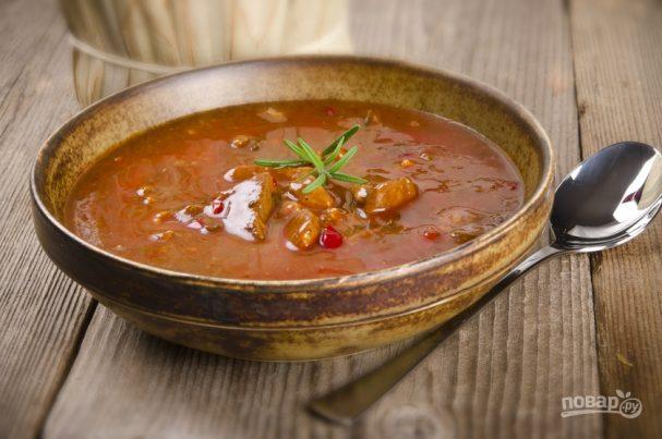Суп с телятиной