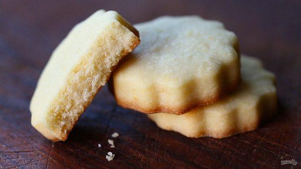 Рецепт песочного печенья в формочках