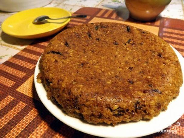 Овсяный пирог в мультиварке