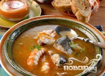 Рыбный суп по-марсельски