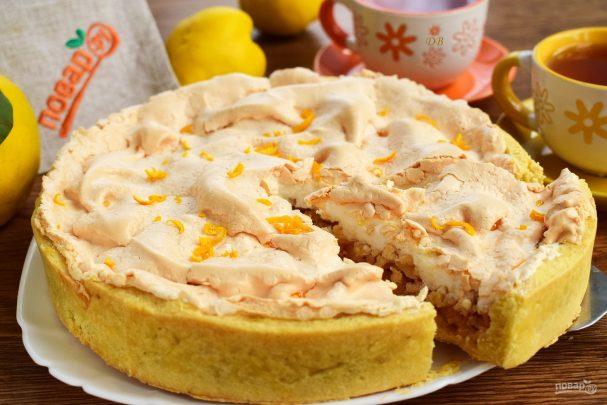 Венгерский айвовый пирог