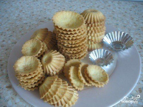 песочные тарталетки рецепт с фото